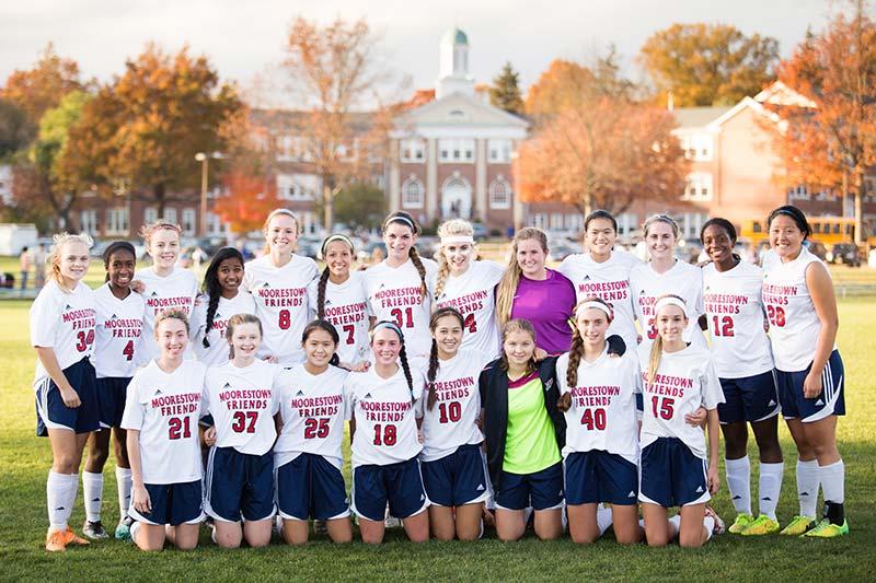 Moorestown Friends School Girls' Varsity Soccer Team