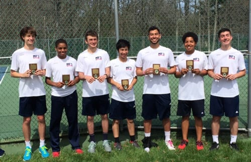 Moorestown Friends Boys' Tennis Team