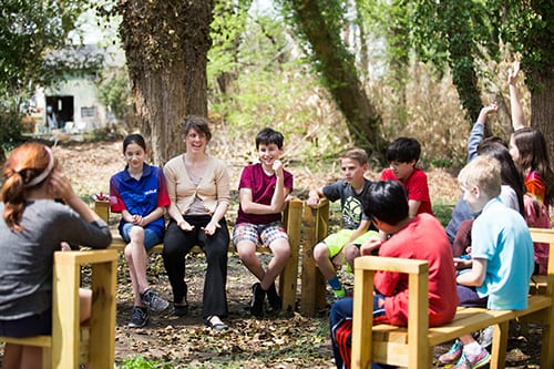Quaker Education – Outdoor Classroom