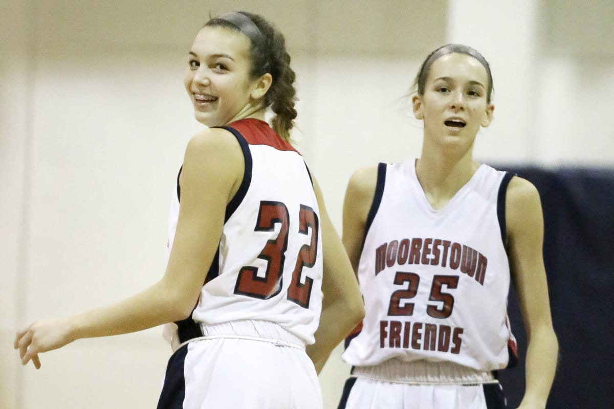 Moorestown Friends girls basketball