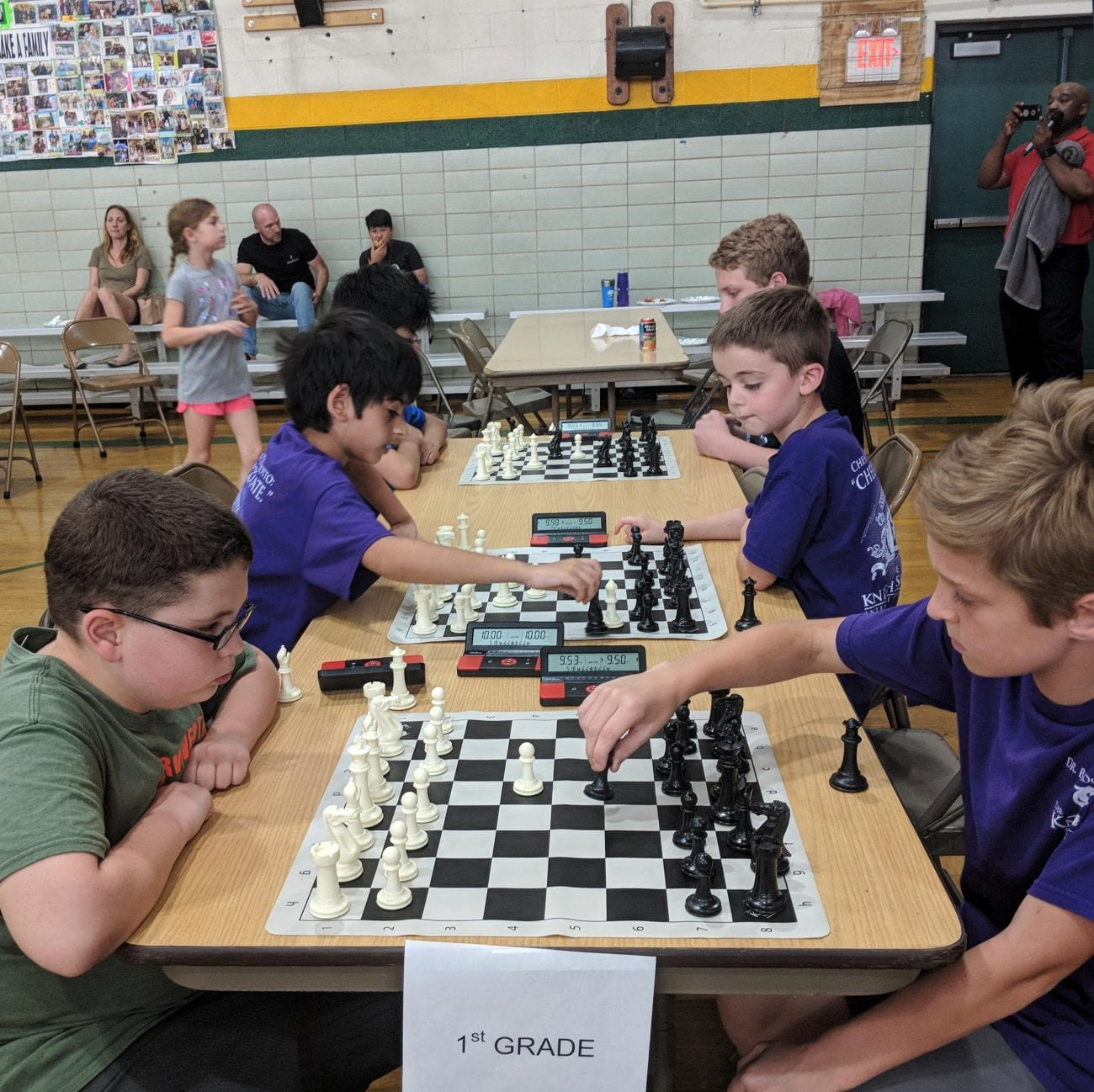 Lower School Chess Students