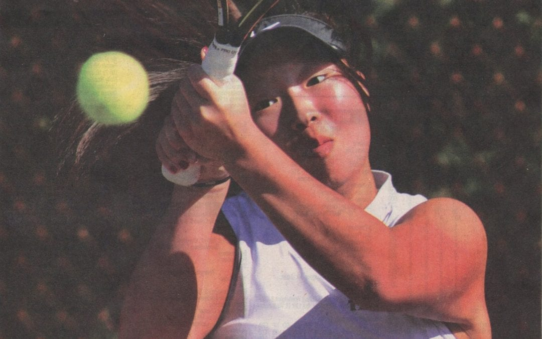 Girls' Tennis Places Three Players in Burlington County Open Final