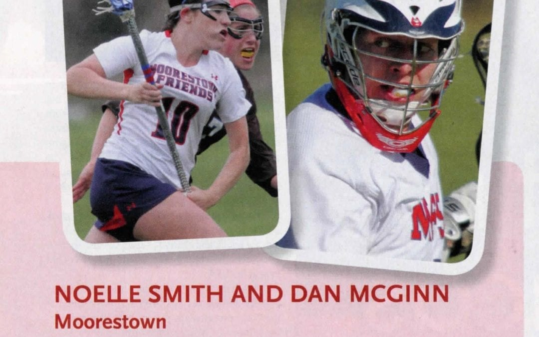 Noelle Smith '14 and Daniel McGinn '14 Recognized for Academic All-American Status