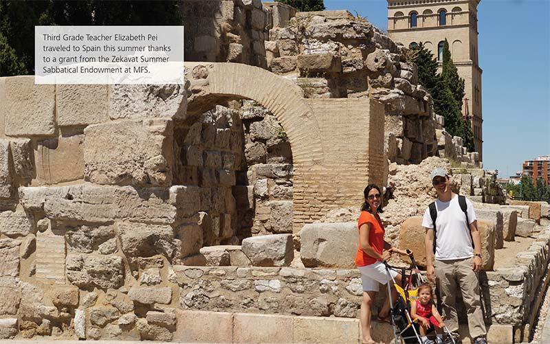 Third Grade Teacher Elizabeth Pei Discovers History in Spain