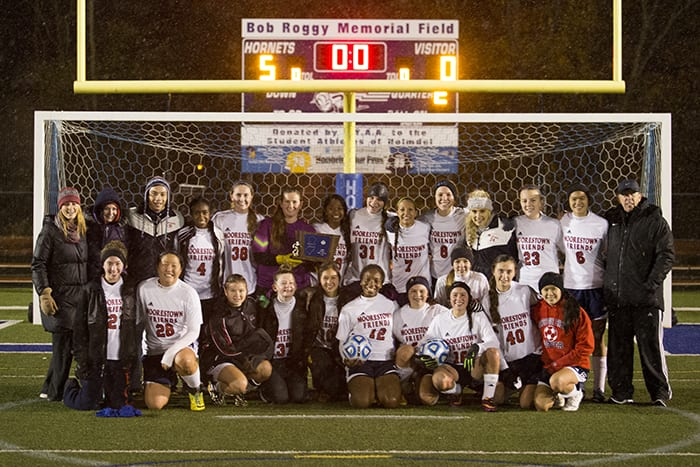 MFS Captures NJSIAA Girls' Soccer Sectional Championship