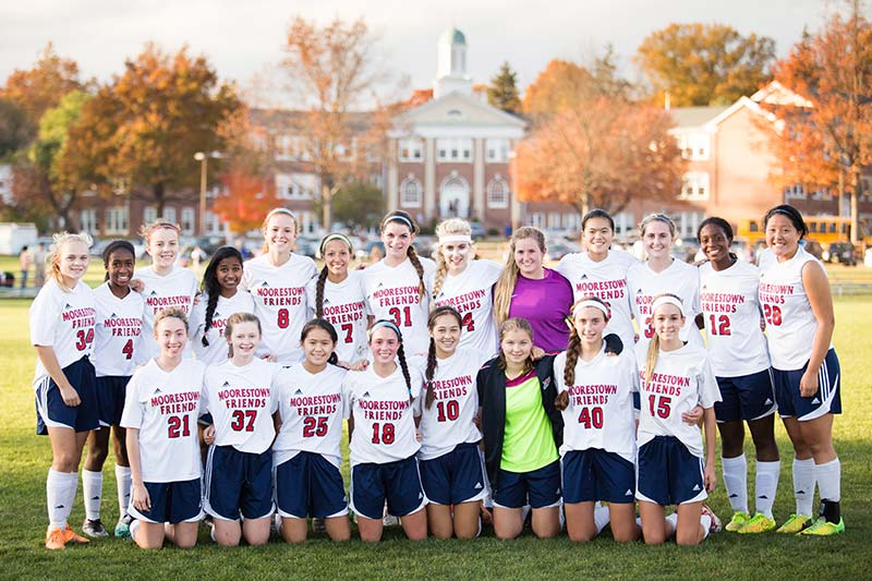 Girls' Soccer Earns Berth in NJSIAA South Jersey Final