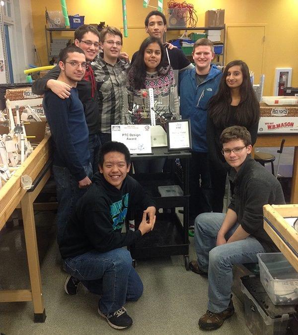 Moorestown Sun Features Robotics Program