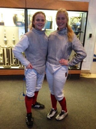 Freshmen Fare Well at Montclair Fencing Invitational