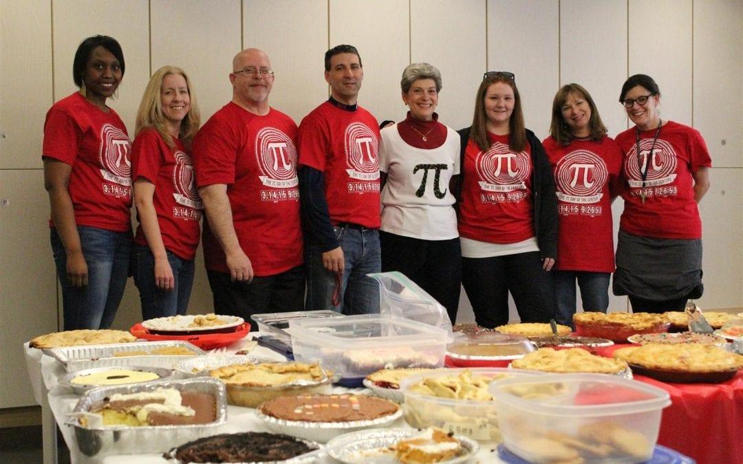 "Math Department Celebrates ""Pi Day of the Century"""