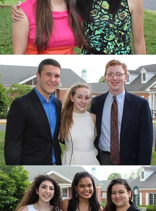 Eight Upper School Students Inducted Into World Language Honor Societies
