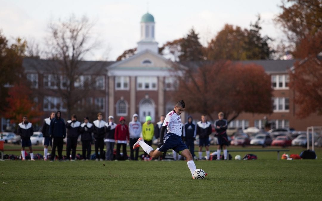 David Howarth '15 Named Scholar All-American in Boys' Soccer