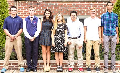 Seven Seniors Named National Merit Scholarship Commended Students