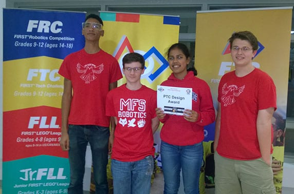 Moorestown Friends School Mfs Robotics Team Selected As Nj