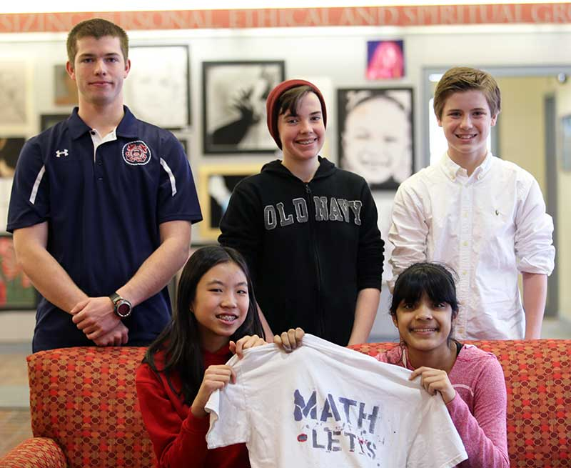 Middle School MATHCOUNTS Team Earns Third Place at Regional Competition
