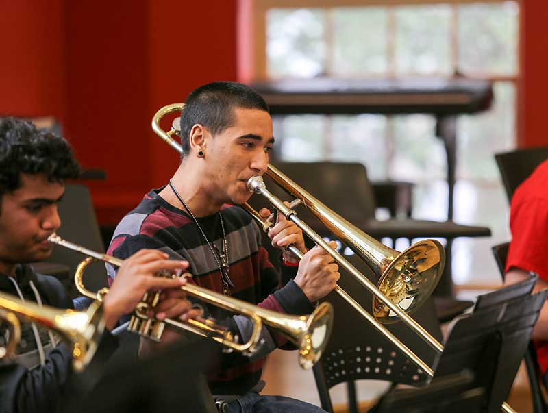 Students Enjoy Exploration and Guest Instructors at Upper School Instrumental Music Retreat