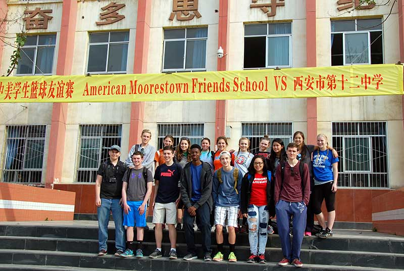 MFS Featured on Local Television News During China Intensive Learning Trip