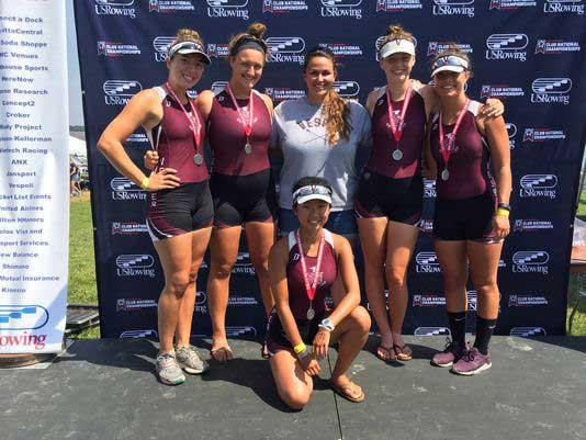 Sujin Kim '18 Earns Silver Medal at US Rowing National Championships