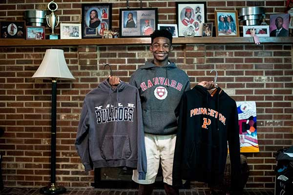 From Philadelphia Inquirer: Moorestown Friends Freshman Sets Sights on Harvard – and the White House