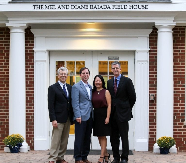 Announcing The Mel and Diane Baiada Field House