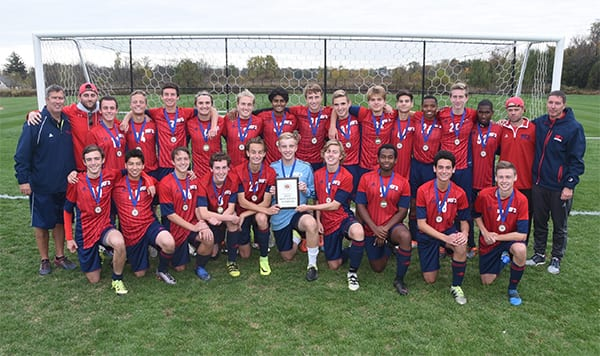 Boys' Soccer Wins FSL Championship