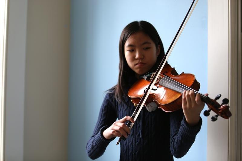 Lauren Kam '21 Awarded Principal Violist in SJ Director's Association's Middle School Orchestra