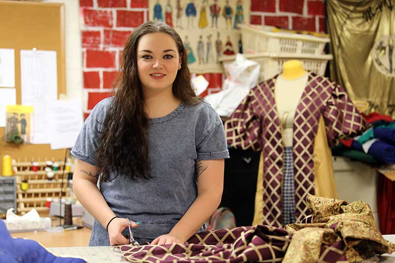 Ailsa Stevenson '11: First-Time Producer, Long-Time Costumer for MFS Theater Productions
