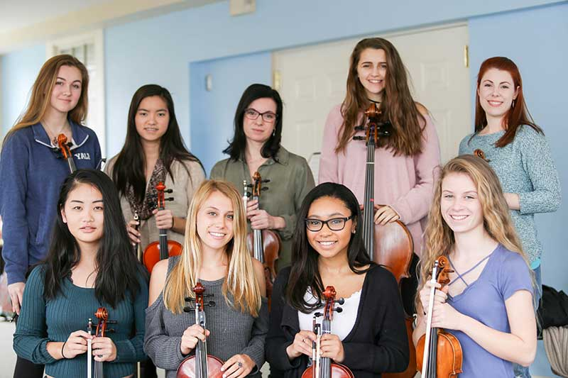 Upper School Musicians Participate in Annual Instrumental Music Retreat