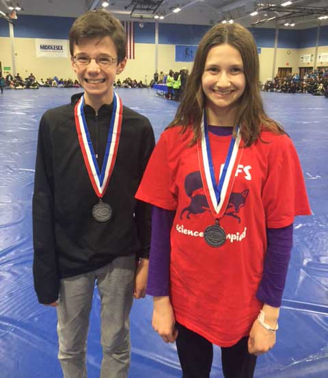 MS Students Earn Second Place at NJ Science Olympiad State Tournament