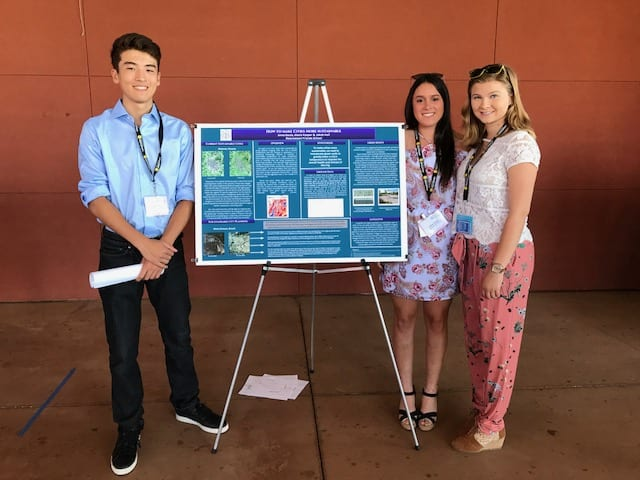 US Students Present Research for M.Y. S.P.A.C.E. Climate Change Program