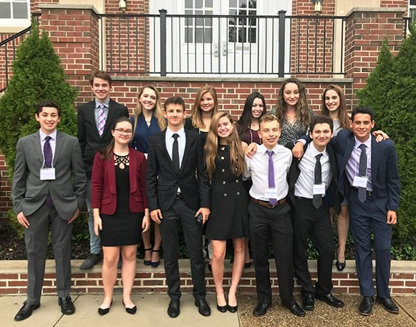 US Students Hosted First Quaker Model UN Conference for Four Friends Schools