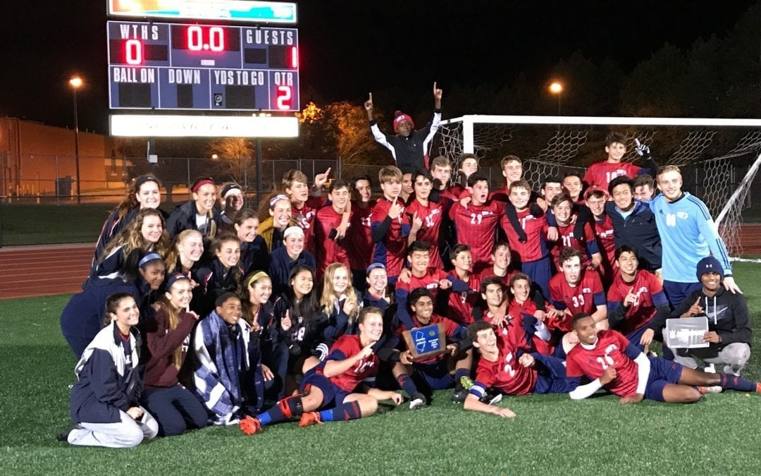 Soccer Teams Capture TWO South Jersey Sectional Titles