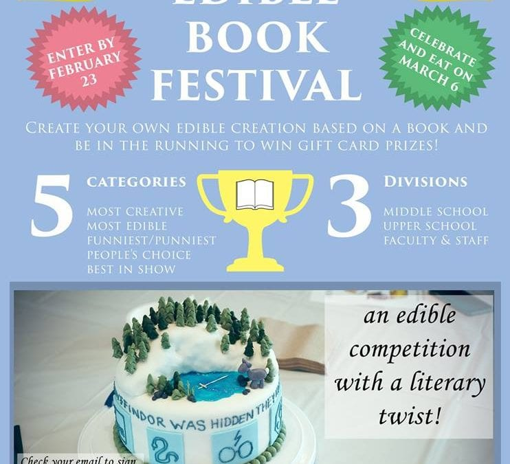 Read It and Eat It: MFS to Hold First Edible Book Festival