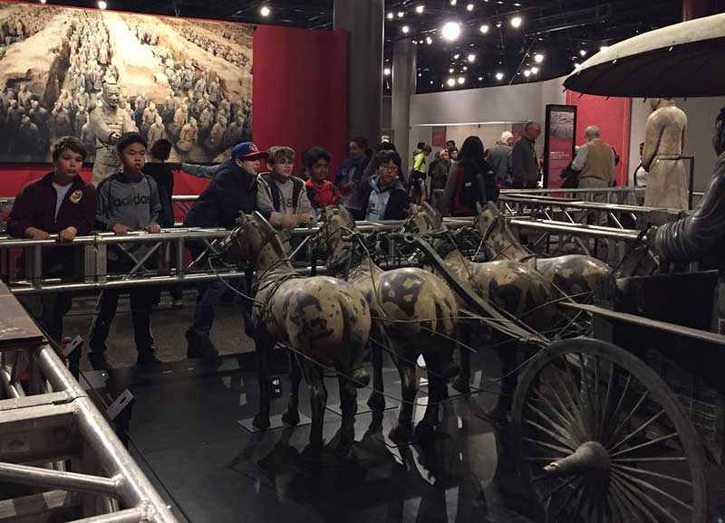 Sixth Grade Interdisciplinary Field Trip Links Chinese, History, and Science