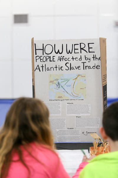 Seventh Grade Atlantic Slave Trade Museum