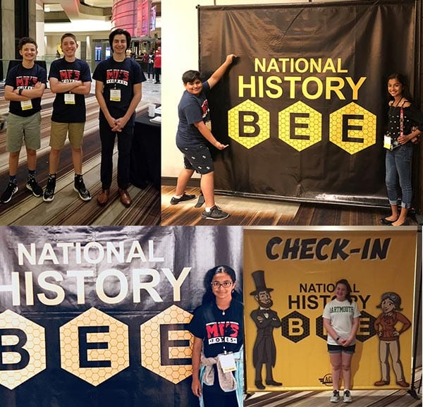 MFS Middle School at the National History Bee