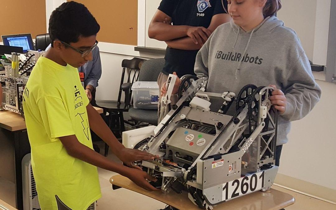 MFS Hosts Regional Summer Robotics Workshop