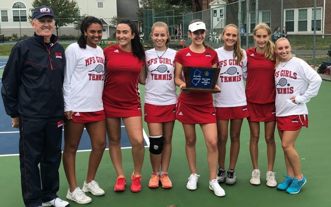 Girls' Tennis Captures NJSIAA South Jersey Crown