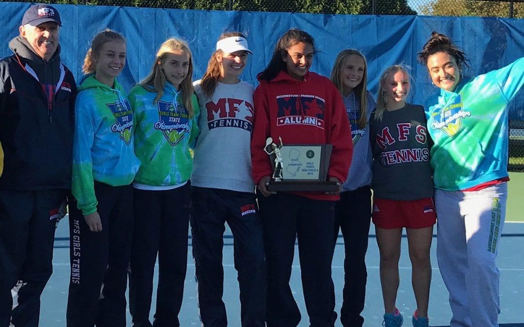 Girls' Tennis Wins NJSIAA Non-Public B State Title