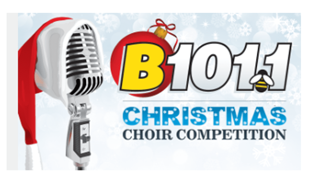 Vote for MFS in the B101 Christmas Choir Competition!
