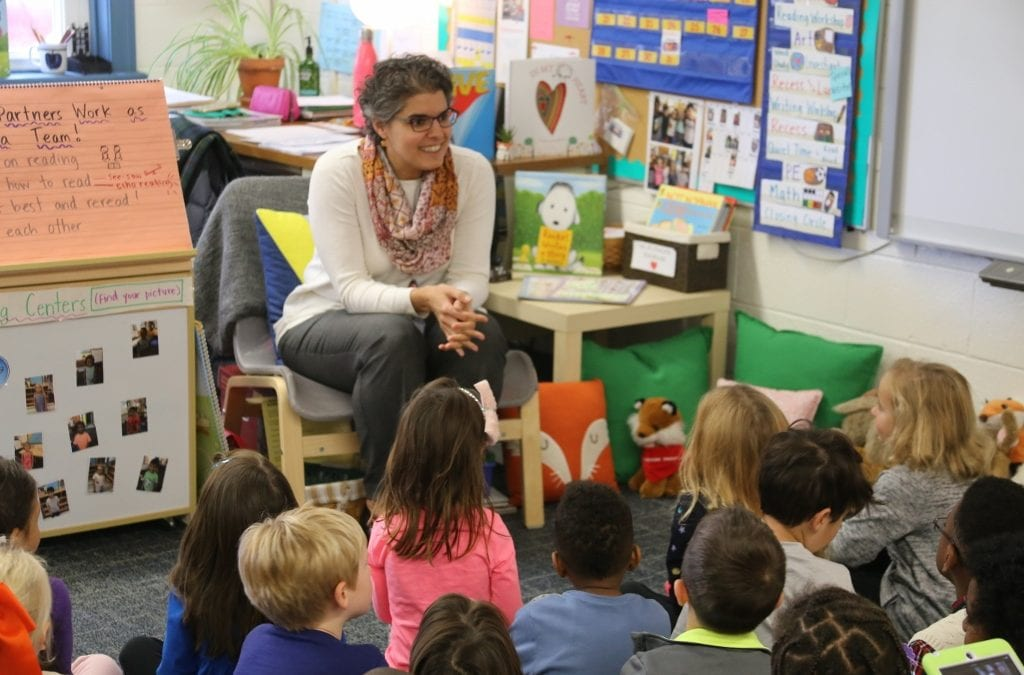 Community Visits Introduce Kindergarteners to 8 MFS Faculty and Staff