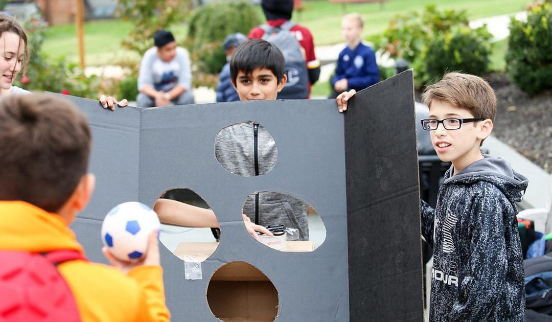 Fifth Grade Students Host Second Annual Cardboard Arcade Design Challenge