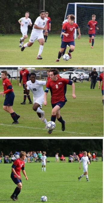 Three Boys' Soccer Players Receive Regional and State Honors