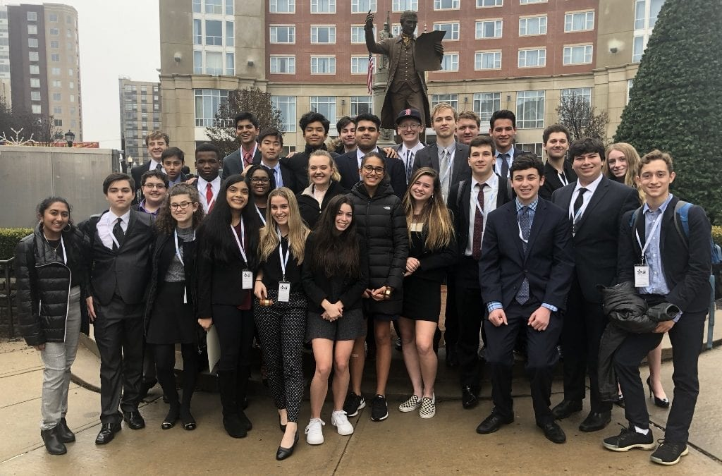 Model UN Students Enjoy Success at Rutgers Conference