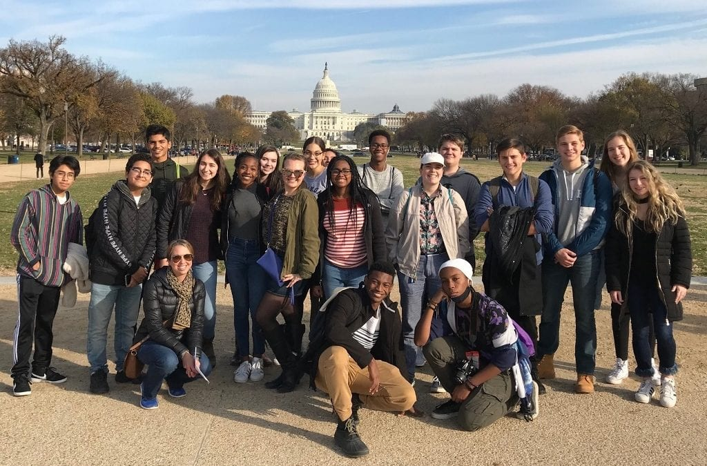Eleventh Grade Students Visit Washington, D.C. for Annual History Department Field Trip