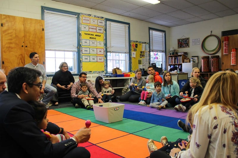 "Beginnings Students and Parents Discover Music Education Through ""Informances"""