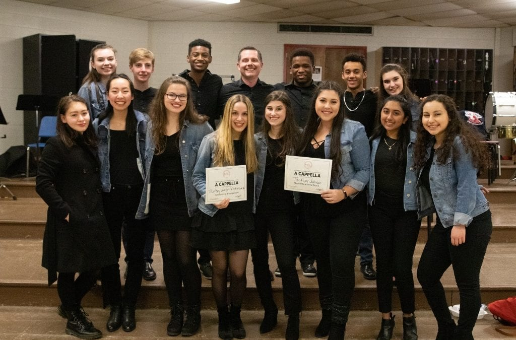 Chamber Choir Places Third at Regional A Cappella Competition