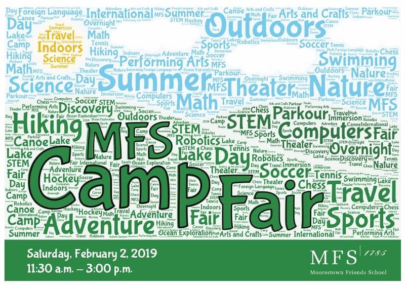 MFS to Host 27th Annual Camp Fair – Saturday, February 2