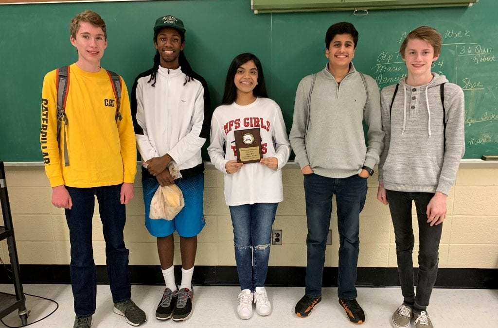 Upper School History Bowl Team Wins Regional Championship, Qualifies for Nationals