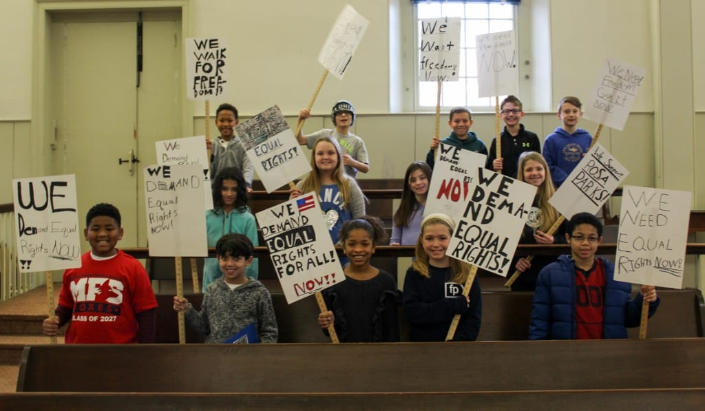 Lower School Students Bring History to Life with Annual Martin Luther King, Jr. Day Program