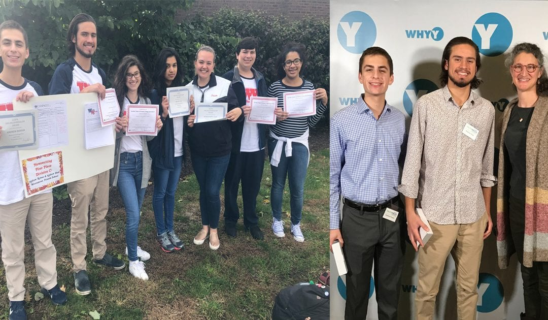 Upper School Student Journalists Earn Awards from WHYY, State and National Scholastic Press Associations